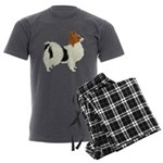 Papillon Men's Charcoal Pajamas
