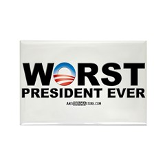 Worst President Ever Rectangle Magnet