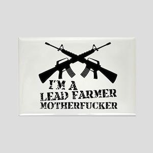 im a lead farmer tropic thunder Rectangle Magnet