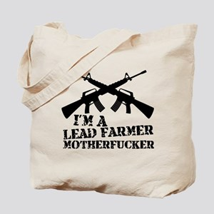 im a lead farmer tropic thunder Tote Bag