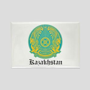 Kazakhstani Coat of Arms Seal Rectangle Magnet