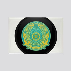 Coat of Arms of Kazakhstan Rectangle Magnet