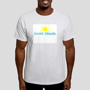 Greek Islands - Ash Grey T-Shirt