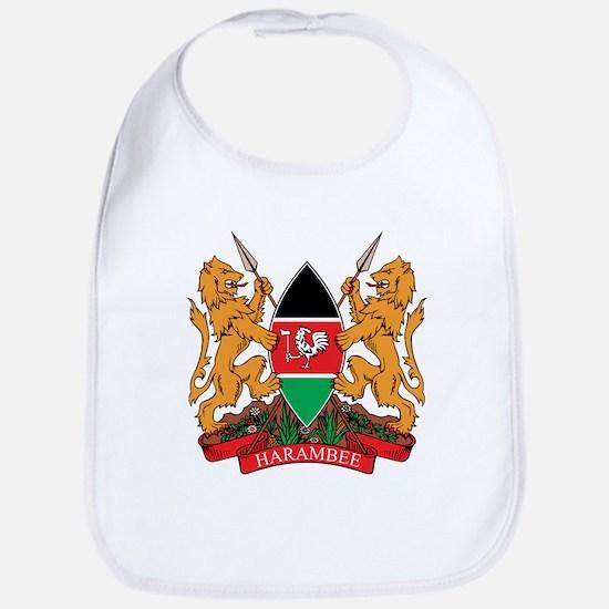 kenya Coat of Arms Bib