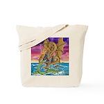 Dragon Battle Tote Bag