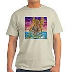 Dragon Battle Ash Grey T-Shirt