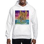 Dragon Battle Hooded Sweatshirt