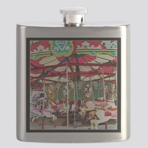 Merry Go Round Flask