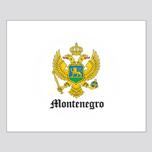 Montenegrin Coat of Arms Seal Small Poster