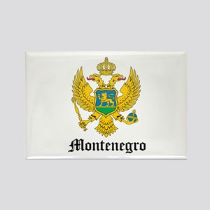Montenegrin Coat of Arms Seal Rectangle Magnet