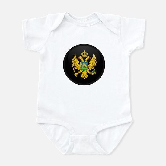 Coat of Arms of montenegro Infant Bodysuit