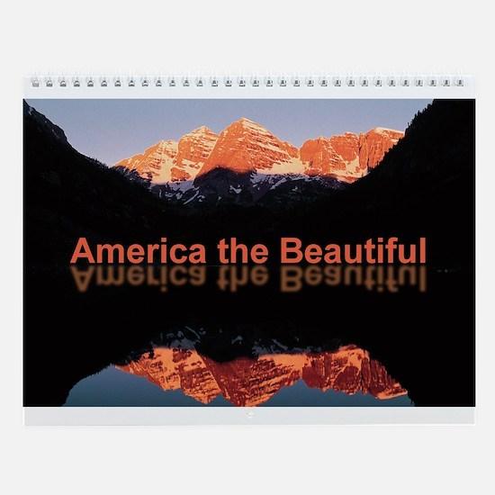 America the Beautiful Calendar