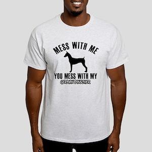 German Pinscher dog breed designs T-Shirt