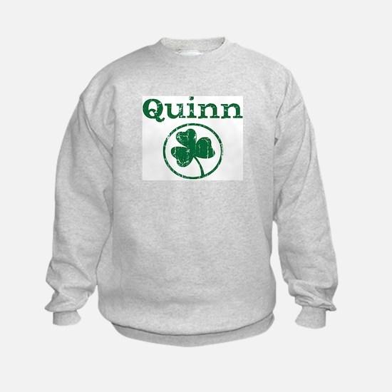 Quinn shamrock Sweatshirt