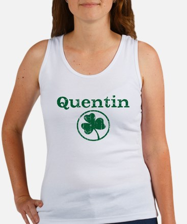 Quentin shamrock Women's Tank Top