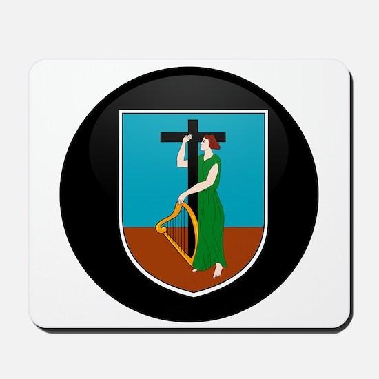 Coat of Arms of Montserrat Mousepad
