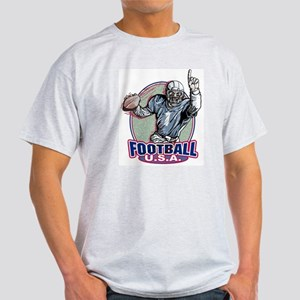 Football USA Ash Grey T-Shirt