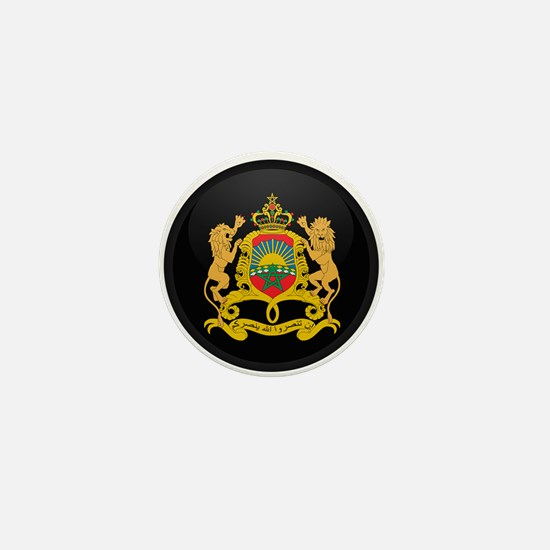 Coat of Arms of Morocco Mini Button
