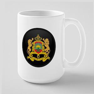 Coat of Arms of Morocco Large Mug