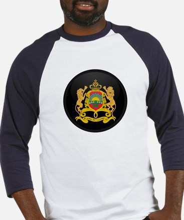 Coat of Arms of Morocco Baseball Jersey