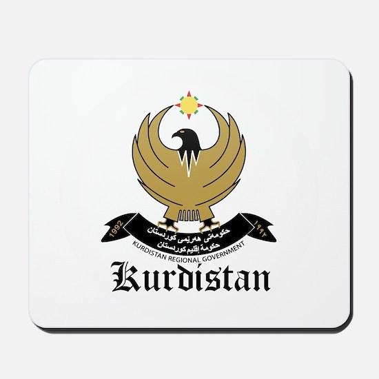 kurd Coat of Arms Seal Mousepad