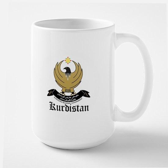 kurd Coat of Arms Seal Large Mug