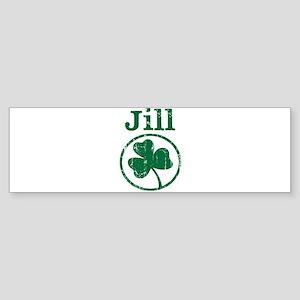 Jill shamrock Bumper Sticker