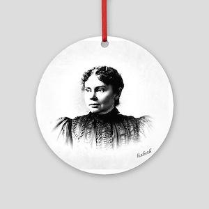 Lizzie Borden Ornament (Round)