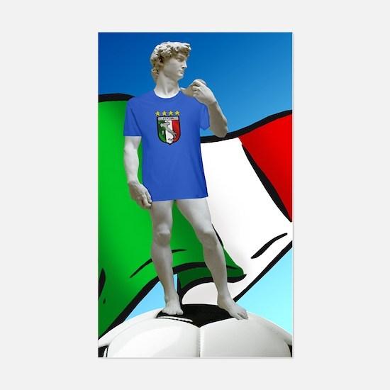 David Michelangelo Italy Calcio Decal