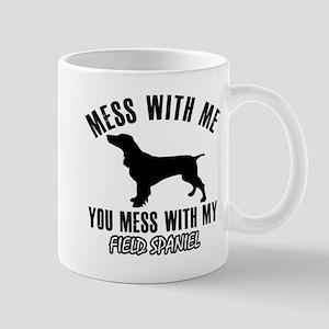 Field Spaniel dog breed designs Mugs