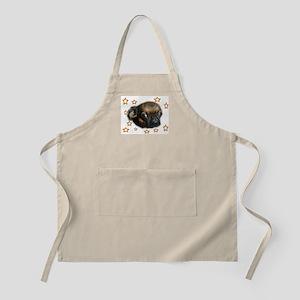 Smooth Brussels Griffon BBQ Apron