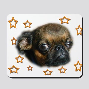 Smooth Brussels Griffon Mousepad