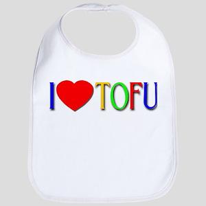 I Love Tofu Bib
