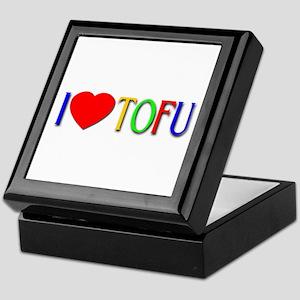 I Love Tofu Keepsake Box