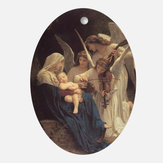 Song of Angels Oval Ornament