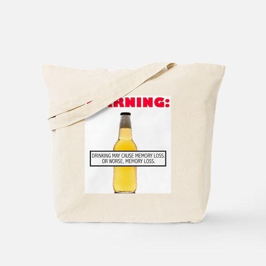 Warning: Drinking May Cause Memory loss or Worse,