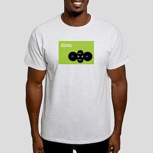 iOnic iPod Spoof Ash Grey T-Shirt