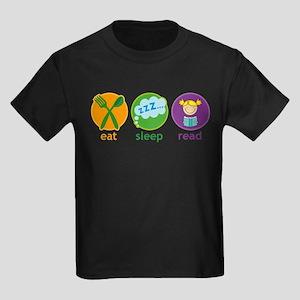 Cute Eat Sleep Read T-Shirt