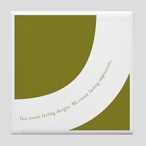 Lasting Impressions Coaster