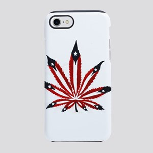 PR Weed Leaf iPhone 7 Tough Case