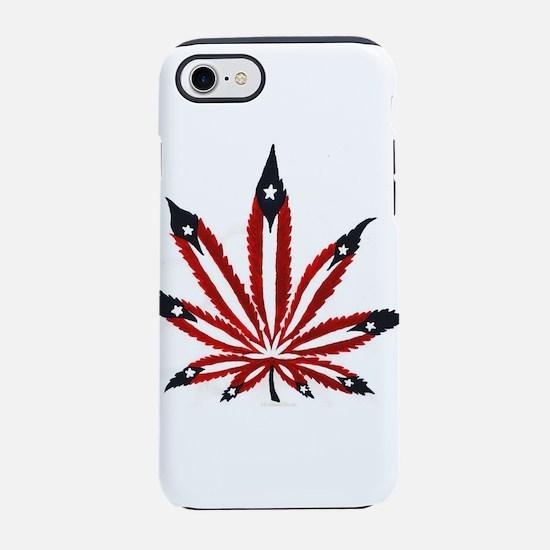 PR Weed Leaf iPhone 7 Tough Case