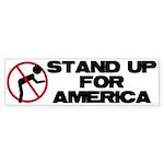 Stand For America Bumper Sticker (50 pk)