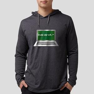 Sudo rm   Linux Coding Termina Long Sleeve T-Shirt