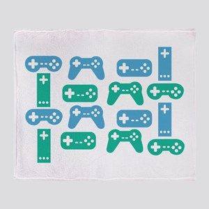 Gaming Control Tools Throw Blanket