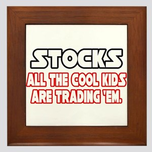 """""""Stocks...Cool Kids"""" Framed Tile"""