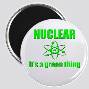 nuclear power go green Magnets