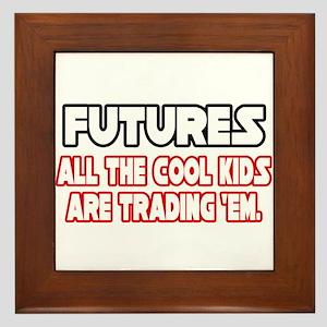 """""""Futures...Cool Kids"""" Framed Tile"""