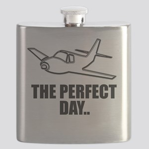 flying airplane Flask