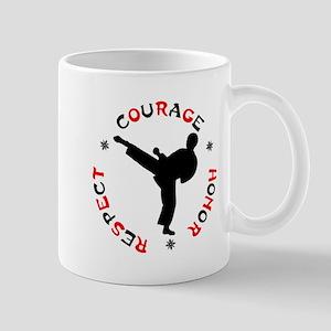Martial Arts 11 oz Ceramic Mug