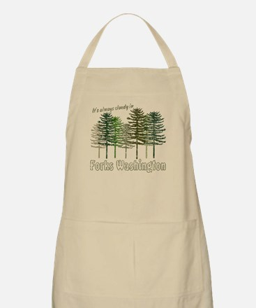 Always Cloudy in FORKS BBQ Apron
